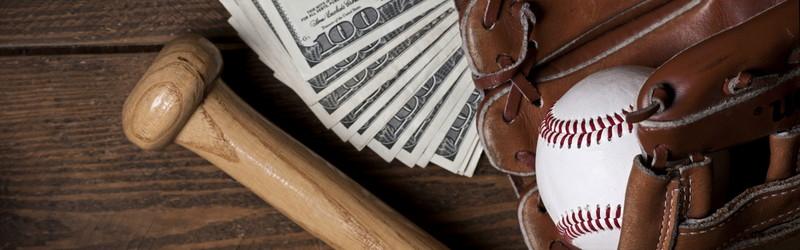 野球用具 お金